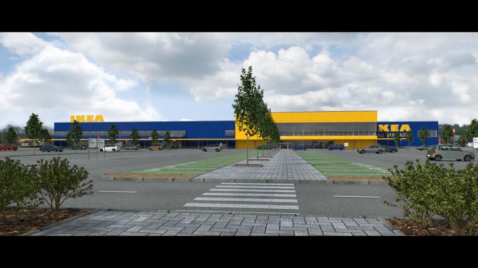 IKEA project in Riga