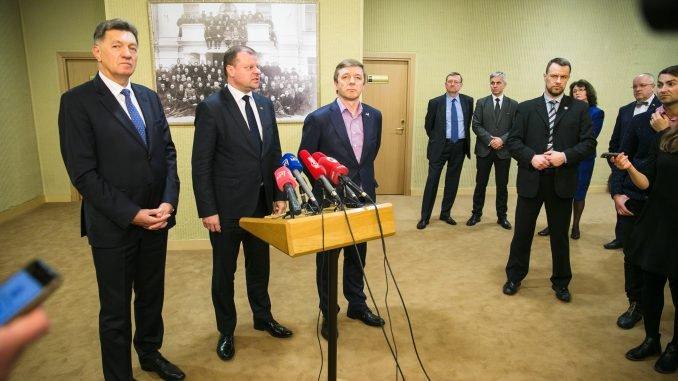 Algirdas Butkevičius, Saulius Skvernelis, Ramūnas Karbauskis
