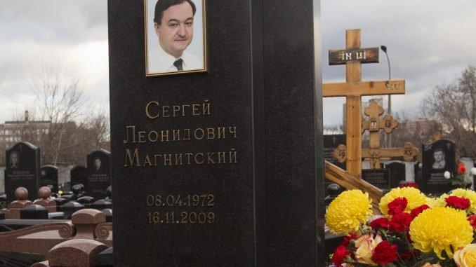 Sergey Magnitsky grave