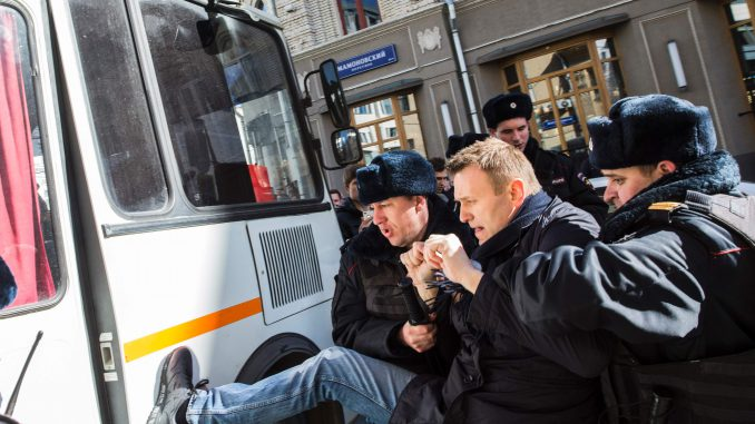 Detention of Navalny