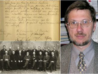February 16 Act, the Signatories and Prof. Liudas Mažylis