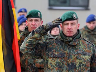 Lieutenant Colonel Christoph Huber, the commander of the NATO battalion
