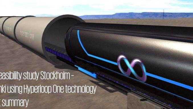 Hyperloop One technology