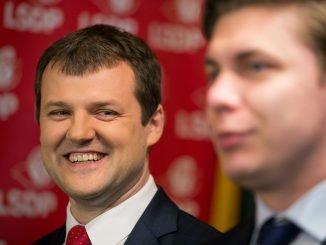 Gintautas Paluckas and Mindaugas Sinkevičius