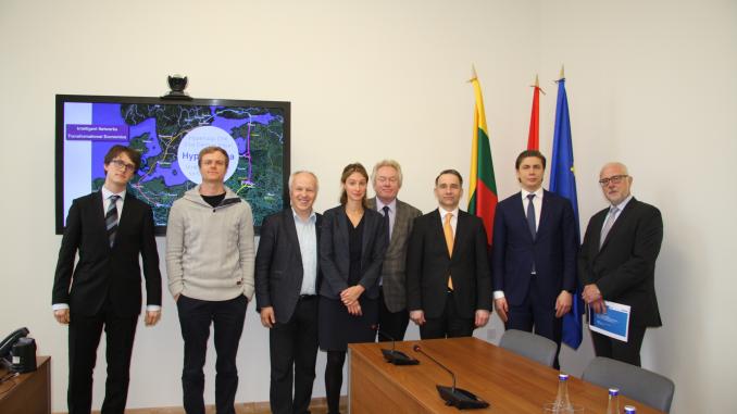 Hyperloop One delegation in Lithuania