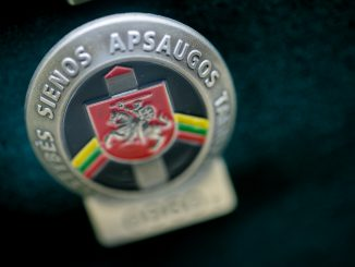 - Lithuania's State Border Guard Service pin