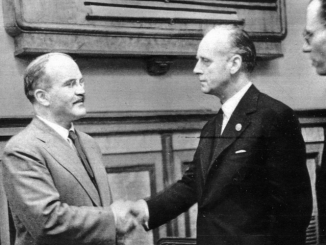 V. Molotov and J. von Ribbentrop