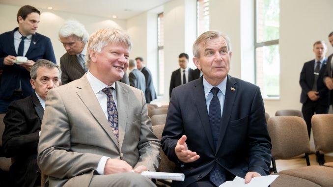 Kęstutis Navickas and Viktoras Pranckietis