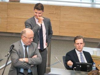 Andrius Kubilius, Mykolas Majauskas, Gabrielius Landsbergis