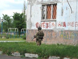 In the Eastern Ukraine
