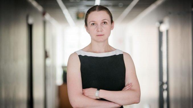 Evelina Gudzinskaitė, director of the Migration Department