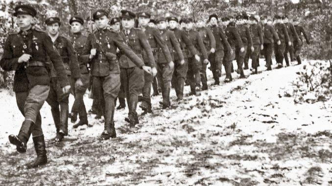 Dainava district partisans. Winter 1945-1946