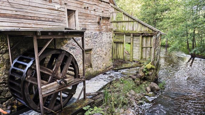 Šlyninka mill in Zarasai