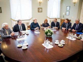 Meeting regarding vocational training at the Presidential Palace