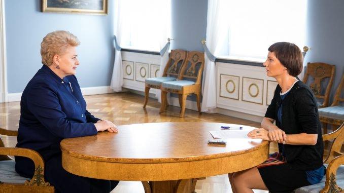 Dalia Grybauskaitė, Monika Garbačiauskaitė-Budrienė
