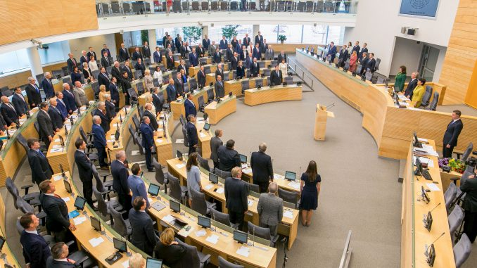 Opening of the autumn session of the Seimas