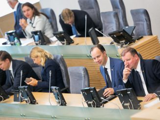 Government Hour in the Seimas