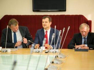 Andrius Palionis, Gintautas Paluckas, Gediminas Kirkilas