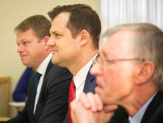 Gintautas Paluckas and Gediminas Kirkilas