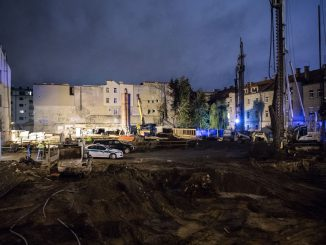 An explosive discovered in central Vilnius