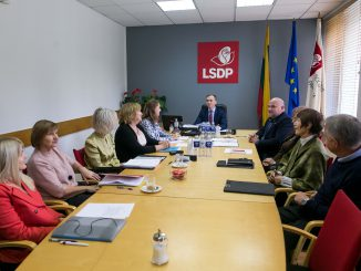 The Ethics and Procedures Commission of the Lithuanian Social Democratic Party on 7 October