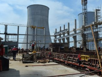 Astravyets NPP construction