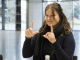 Using sign language during the project  Photo © Ludo Segers @ The Lithuania Tribune