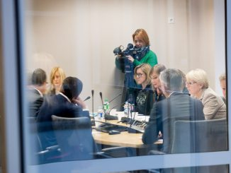 Seimas  Commission for Ethics and Procedures meeting