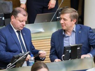 Saulius Skvernelis and Ramūnas Karbauskis