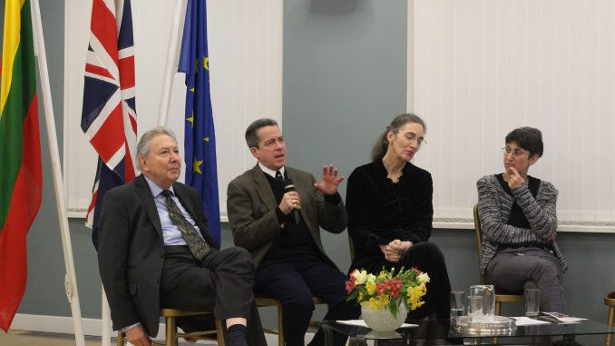 Antony Barry Polonsky, Michael Berkowitz, Gail Levin, Vivi Lachs. Photo © Adam Keiras