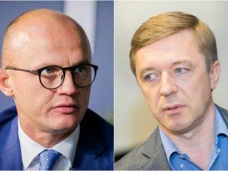 Edmundas Jakilaitis and Ramūnas Karbauskis