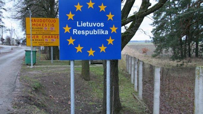 Lithuanian border
