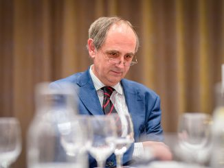 Edward Lucas, the Nordic Chambers Dinner i