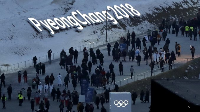 Pyeongchang Winter Olympics opening ceremony