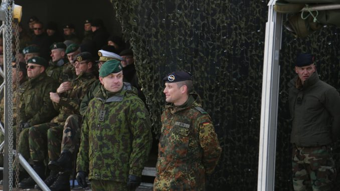 Lithuanian and German soldiers