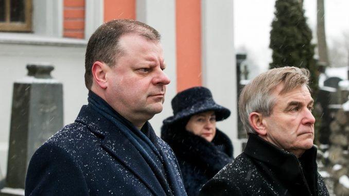 Saulius Skvernelis and Viktoras Pranckietis