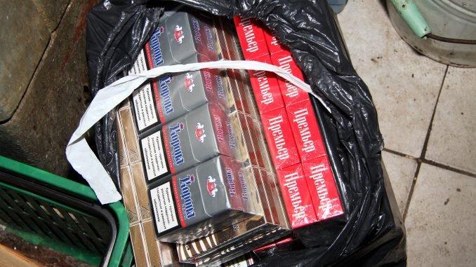 Contraband cigaretes