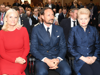 Crown Princess Mette-Marit of Norway, Crown Prince Haakon of Norway, Business Forum  Photo Ludo Segers @ The Lithuania Tribune