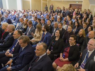 A very large audience at annual Norwegian Lithuanian Business Forum in Vilnius  Photo © Ludo Segers @ The Lithuania Tribune