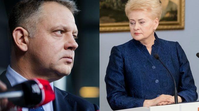 Eligijus Masiulis, Dalia Grybauskaitė