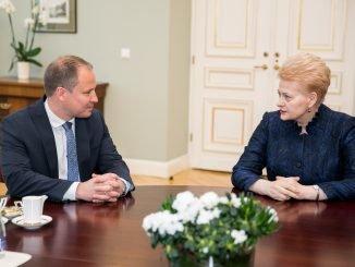 Giedrius Surplys, Dalia Grybauskaitė