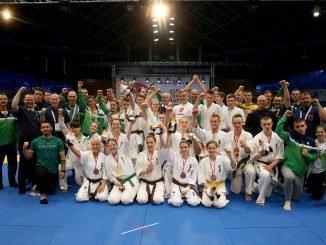 Lithuanian youth kyokushin karate team