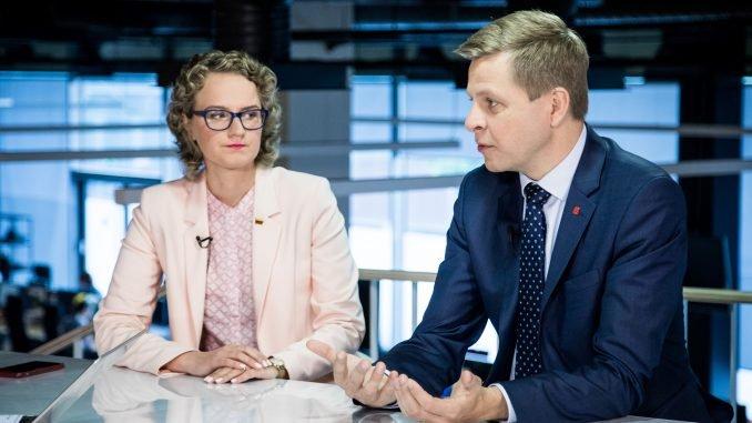 Aušrinė Armonaitė and Remigijus Šimašius
