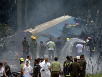 Plane crash in Cuba
