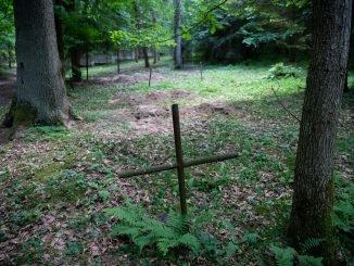 Orphans' Cemetery in the Antakalnis area of Vilnius