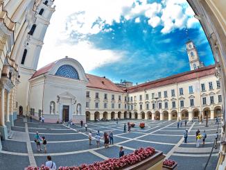 Vilnius University (Edgaras Kurauskas photo)