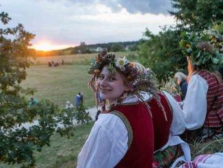 Midsummer (Joninės) in Kernavė