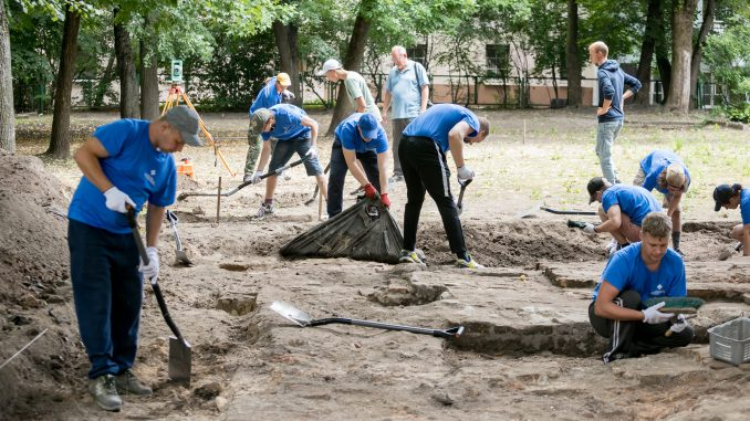 Archaeological explorations of the complex of the Great Synagogue of Vilnius at Vokiečių g.13A @ Vilnius Municipality (9)
