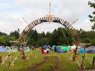 Scout gathering in Rumšiškės
