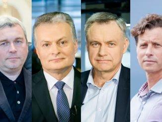 Jolanta Blažytė, Raimondas Kuodis, Gitanas Nausėda, Robertas Dargis, Darius Mockus, Mantas Bartuška